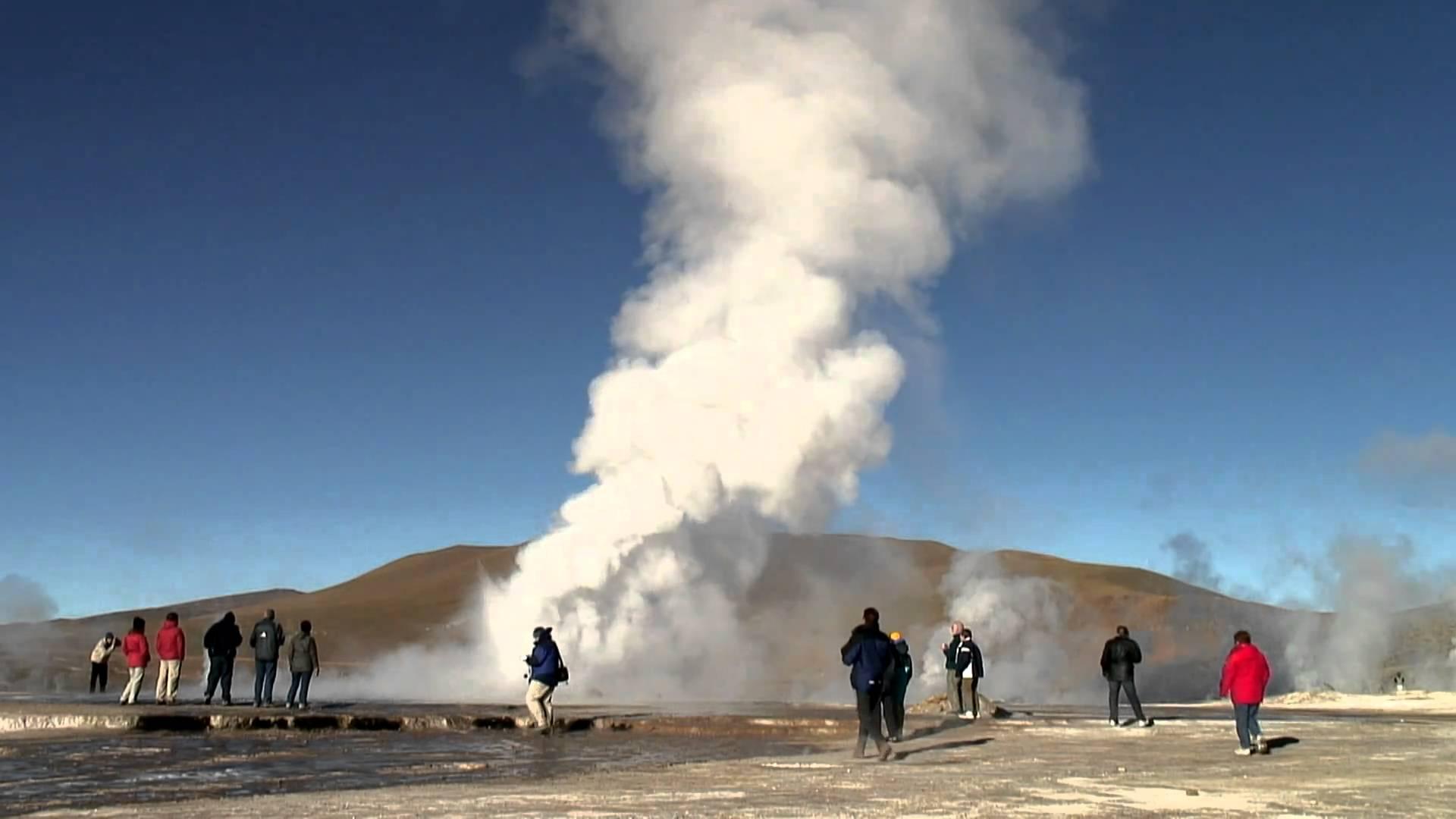 El Tatio Geysers Atacama Desert Chile