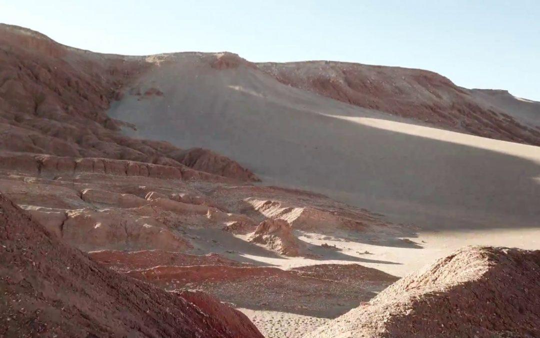 Sand Surfing in the Atacama desert