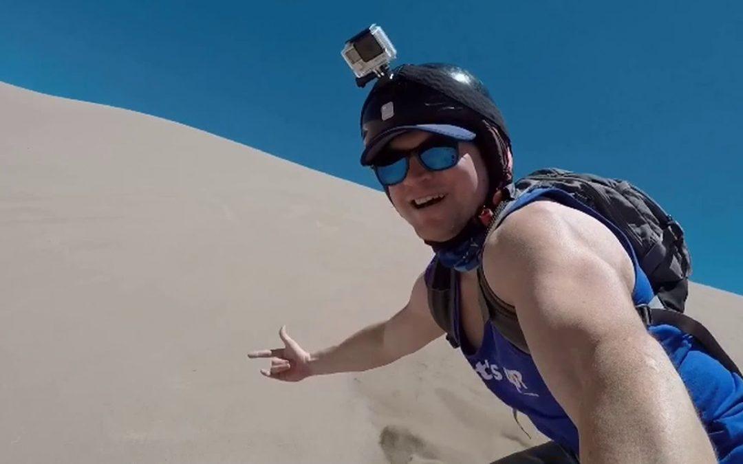 Sandboarding- San Pedro De Atacama – Chile -GoPro
