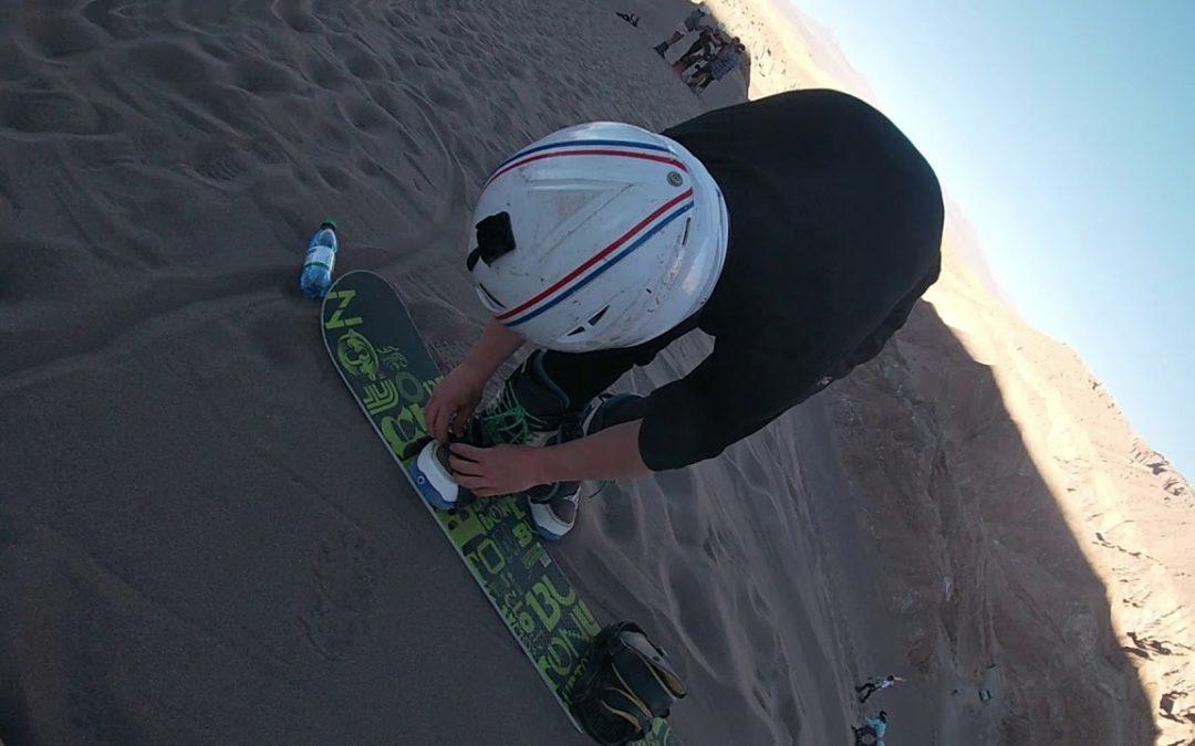 Sandboarding mystic san pedro de atacama