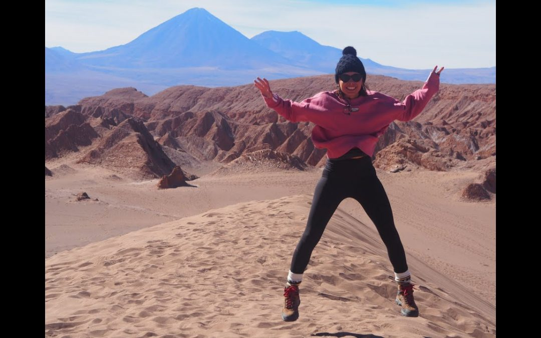 Volcanoes and Flamingos in the Magical Atacama Desert