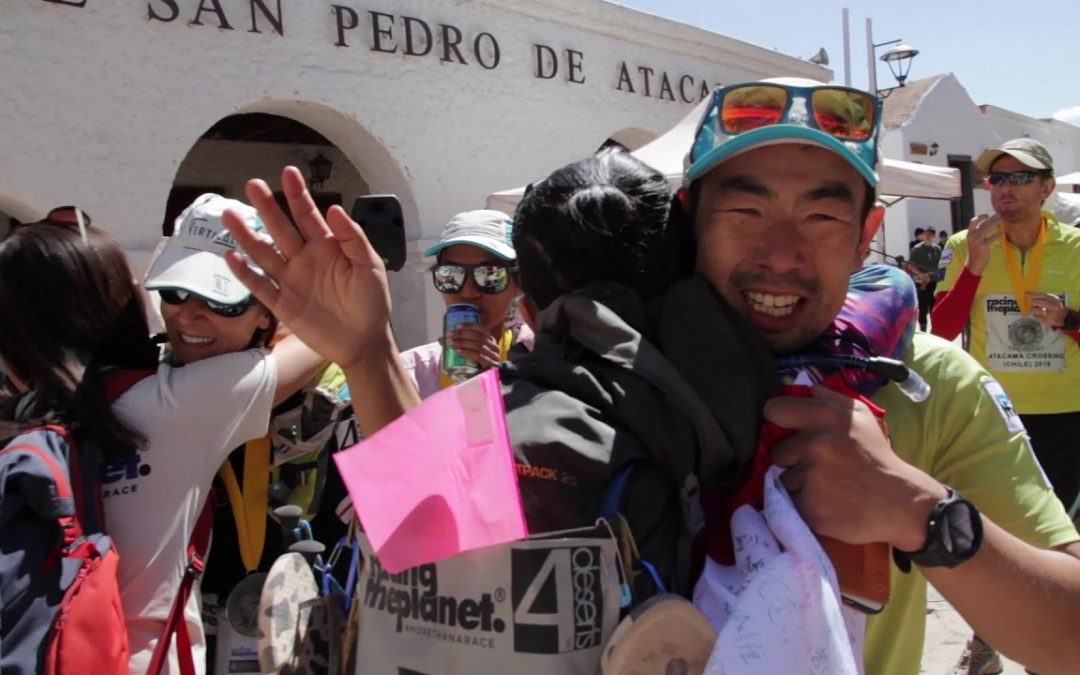 Across the finish line of the Atacama Crossing 2019